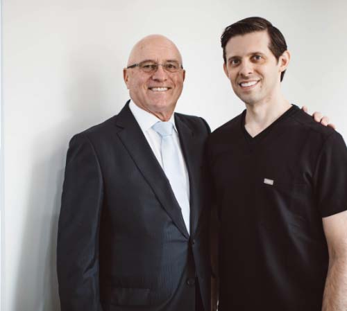 Picture of Dr. Flavio A. Kottar with his father, Dr. Flavio P. Kottar.